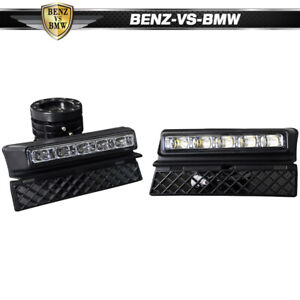 Fits 05 08 Audi A4 Led Drl Daytime Running Driving Fog Lights Lamps Pair