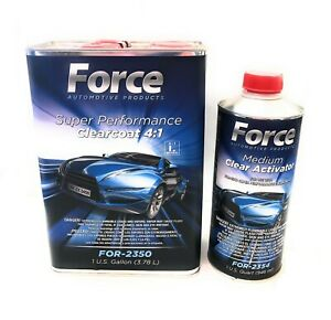 Force Super Performance Urethane Clearcoat W fast Activator 4 1