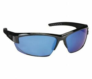 Uvex S1505 Mercury Safety Glasses Black gray W Blue Mirror Lens Box Of 10 New