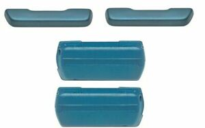 Oer Medium Blue Standard Arm Rest Base And Pad Set 1968 1972 Gto Chevelle 442
