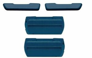 Oer Dark Blue Standard Arm Rest Base And Pad Set 1968 1972 Gto Chevelle 442