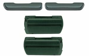 Oer Dark Green Standard Arm Rest Base And Pad Set 1968 1972 Gto Chevelle 442