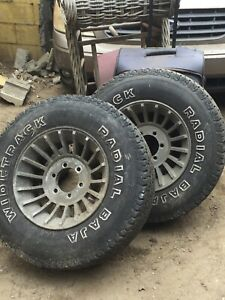 16 5 Inch Western Wheels With 31x10 50x16 5 Tires Will Deliver Good Tread Bolton