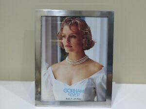 Gorham Sterling Silver Photo Or Picture Frame 8 X 10