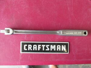 Vintage Craftsman Usa 3 8 Drive Breaker Bar Flex Handle V Series Clean