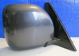 Oem 01 06 Montero Limited Right Passenger Heated Mirror Carbon Gray Pearl 5wire