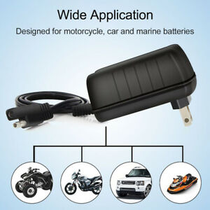 12 6v Battery Charger Maintainer For Motorcycle Automatic Agm Gel Batteries Y6p2