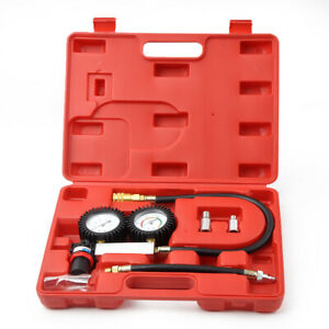 Cylinder Leak Detector Leakage Engine Compression Gauges Tester Tu 21 Kit A1020