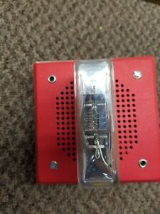 Wheelock Lsm 24 Red 15 Cd Fire Alarm Strobe
