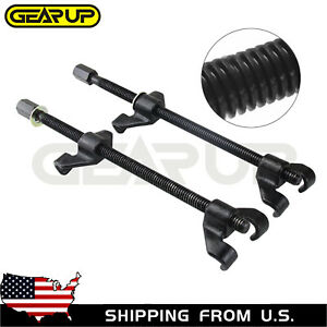 Heavy Duty Coil Spring Compressor Strut Remover Installer Suspension Tool 2pc Us