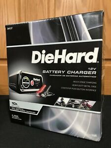 Diehard Dh137 Automatic Battery Charger 12 Volts 10 Amps