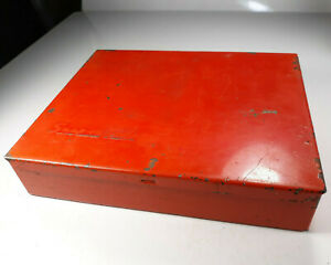 1957 Snap On Tools Vaccum And Fuel Pump Gauge Box And Attachments Only Kr 128