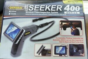 General Dcs400 The Seeker Wireless Video Inspection Camera System Borescope New