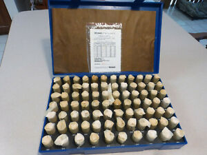 New Westward Plug And Pin Gage Set minus 82 Piece 0 751 0 832