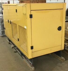 Olympian G100f3 100kw Natural Gas Standby Generator 2006 Model 674 Hours