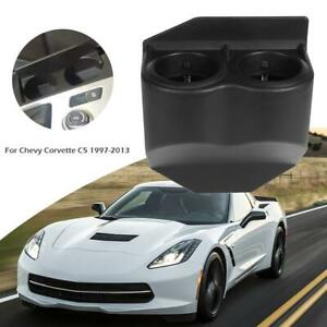 Car Dual Cup Drink Holder Travel Buddy For Chevy Corvette C5 1997 2013