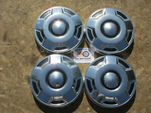 1980 S 90 S Ford 1 2 Ton Pickup Truck Van Dog Dish Hubcaps Set Of 4 Nos