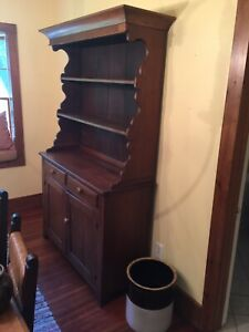 Antique Cabinet Hutch Cupboard Kitchen Dining Rm 1840s 1850s