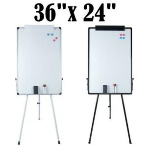 36 x24 magnetic Dry Erase Whiteboard With Adjustable Tripod Stand Display