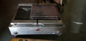 Wells B 50 36 Electric Countertop Charbroiler Commercial Broiler Cooker