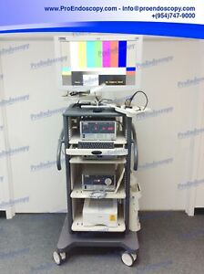 Karl Storz Image 1 Endoscopy Tower With Nds 26 Monitor