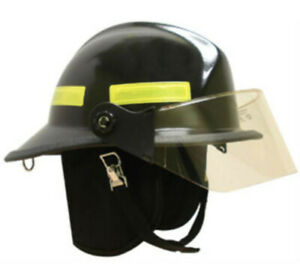 Msa Safety Cairns Invader 664 Composite Fire Helmet Deluxe With 4 Faceshield