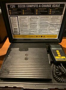 Cps Compute a charge Refrigerant Scale Cc220 220lbs