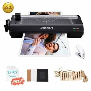 A3 a4 a6 Hot cold 5 in 1 Laminator With 25 Pouches paper Cutter corner Rounder