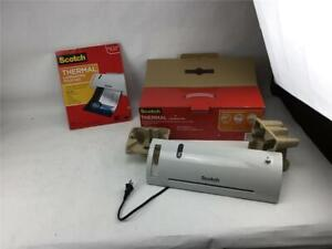 Scotch Thermal Laminator Laminating Machine Tl902 Plus 50 Letter Size Pouches