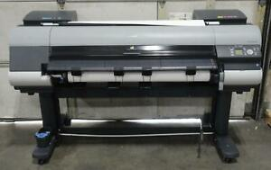 canon Ipf8300s Large Format Printer Usage 44132 Sq ft