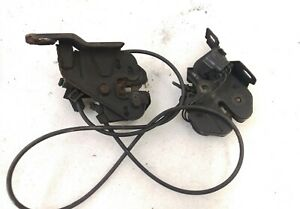 Volvo Side Hood Latches Latch Assembly And Cable S70 V70 C70 V70xc 98 04