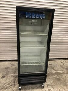Glass Door Drink Display Refrigerator Cooler True Gdm 12 New Compressor 2146