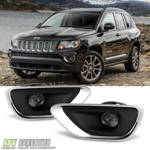 2011 2012 2013 Jeep Grand Cherokee Fog Lights Bumper Lamps switch wire 11 12 13