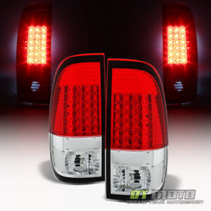 1997 2003 Ford F150 99 07 F250 F350 Sd Led Tail Lights Brake Lamps Left Right