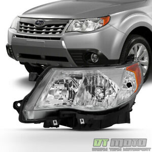 2009 2013 Subaru Forester Headlight Halogen Headlamp Replacement Lh Driver Side