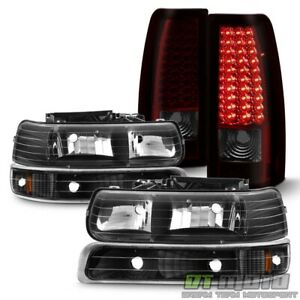 1999 2002 Chevy Silverado 1500 2500 3500 Bumper Headlights led Tail Lights Lamps