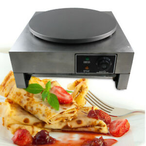 3kw Commercial Electric Crepe Maker 16 Pancake Making Kitchen Machine 110v