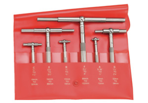 Starrett S579hz Telescoping Gage Set 5 16 6 8 150mm Range