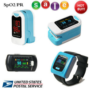Finger Pulse Oximeter Spo2 Blood Oxygen Monitor optional 24h Record rechargeable