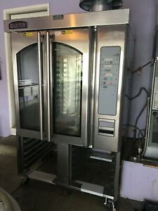 Baxter Ov310g Gas Mini Rotating Rack Oven Slightly Used