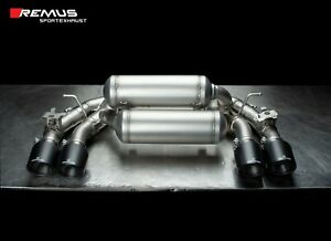 Remus Axle Back Sport Exhaust Bmw F87 M2 Competition Carbon Fiber Tips