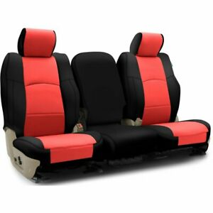 Coverking Seat Covers Set Front New For Fiat 500l 2014 Cscq17ft7031