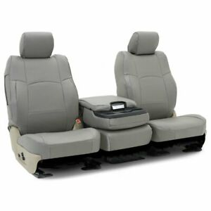 Coverking Set Seat Covers Front New Gray For Chevy Express Van Cscrh2ch9448
