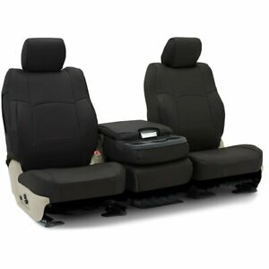 Coverking Set Seat Covers Front New Black For Fiat 500l 2014 Cscrh1ft7031
