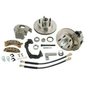 Mustang Ii Brake Kits For Early Chevy Spindles Gm 4 75 Pattern