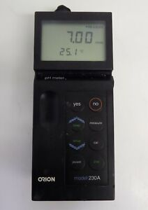 Orion Model 230a Portable Ph Meter