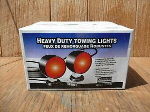 Custer Heavy Duty Magnetic Towing Lights 30 Ft Cord Tow Tail Hdtl30b Commercial