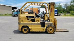 Yale Forklift 20000lbs Capacity V8 Propane Warehouse Or Indoor Use