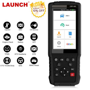Launch X431 Obd2 Code Reader Auto Diagnostic Scan Tool Tpms Dpf Injector Coding