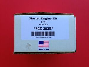 1970 Boss 302 Master Engine Bolt Kit Correct New Amk